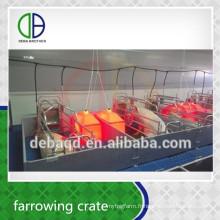 Fabricant fait sur commande de caisses de mise-bas de porc d'équipement d'élevage de porc