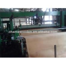 Rotación de corte de madera natural núcleo chapa 0.3mm-1.7mm en la fábrica de Linyi