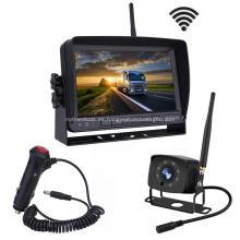 Sistema de cámara de respaldo inalámbrico digital con monitor de 7 pulgadas