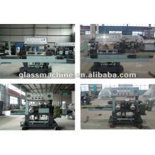 YMA211 Horizontal Glass Edging Machine With 4 Wheels