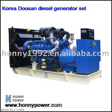 500KW/625KVA diesel generator Korea Doosan