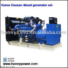 500KW / 625KVA gerador diesel Coréia Doosan