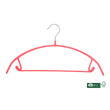 Eisho Bunte Durable Home Kollektion Kleidungsstück Verwendung PVC Metall Kleiderbügel