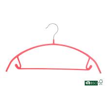 Eisho coloridos duradera colección de ropa de uso de la ropa de PVC metal gancho