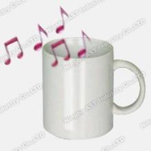 Boleh rakam Mug, cawan, cawan seramik, muzik berjenama