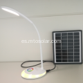 Lámpara de escritorio led solar usb