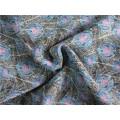 Polyester Chiffon Velvet with Printing (XSC011)