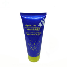 Tubo cosmético del limpiador facial plástico suave vacío 150ml
