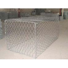 Caixa de Gabion Galvanizada a Quente Acoplada Hexagonal