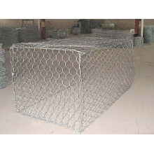 Hot Dipped Galvanized Gabion Box Hexagonal Mesh