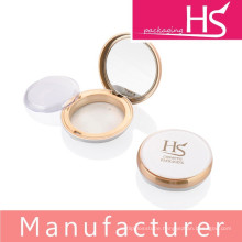 new empty compact powder packaging with mirror
