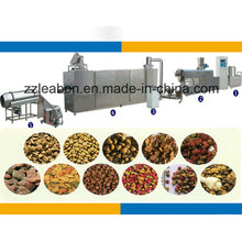 Full Automatic Small Pet Food Pellet Production Making Machinery
