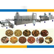 Produção pequena automática completa da pelota dos alimentos para animais de estimação que faz a maquinaria