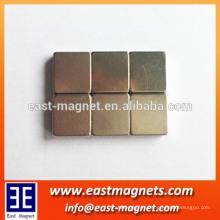 rare earth neodymium cube shape magnet for magnetic mattress