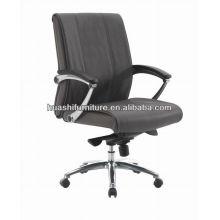 Bürostuhl des neuen Entwurfslederbürostuhls ergonomischer