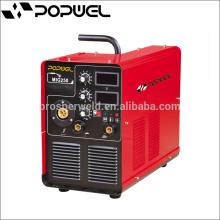High quality 2015 hot sale mig-250 igbt inverter co2 mig welding machine