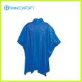 Waterproof Blue Plain PVC Rain Ponchos Rvc-097