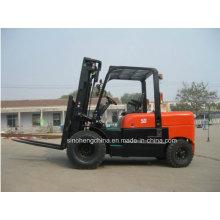 Chariot élévateur diesel d'équipement de levage de logistique 5tons