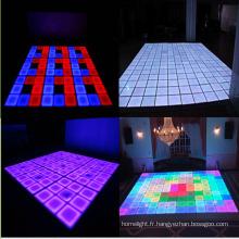 Effet de LED allume l'étape allumant le plancher de danse de RVB LED