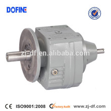 RF.S series flange mounted shaft input helical gear speed reducer SEW