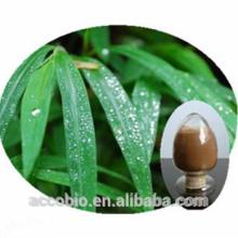 Extrato de folha 100% de pureza de bambu de alta qualidade em pó Flavone 40%