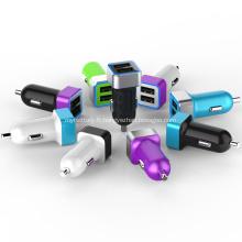 Chargeur de voiture double port USB 2.4A pour Iphone
