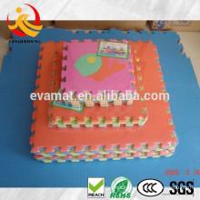 Interlocking foam waterproof gym mat