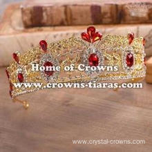 Crystal Party Queen Tiaras With Blue Diamonds