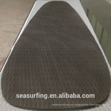 2015 diamond texture deck pad with balck and silver color