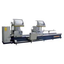 Sierra de corte de precisión de doble cabezal de ángulo variable CNC