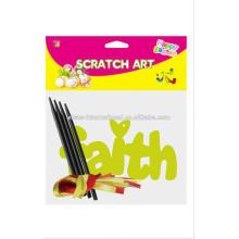 Faire du papier d'art Scratch