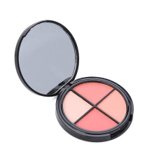 Private Label Blush em pó paleta de maquiagem em pó