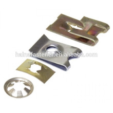 Factory OEM Manufacturing zinc plated cage nut, cage nut in good price