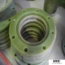 Flange de conexões conjuntas para tubos ou tanques FRP