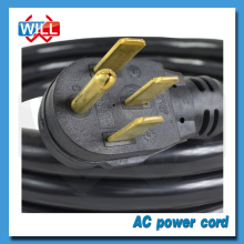 UL CUL 50A 125/250V NEMA 14-50P power cord for industrial equipment