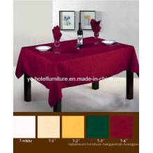Dark Red Comfortable Table Cloth (FCX-538)