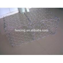 Caixa de malha de arame de aço inoxidável Hexagonal ou cesta para venda de desconto