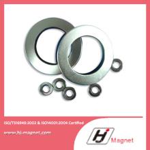 Fritté de terre Rare Permanent N52 anneau Chine aimant de NdFeB fabricant avec un haut Standard