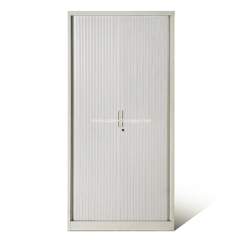 tambour door storage cabinet-1