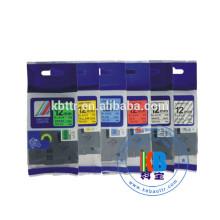 Label printer use black on white tz 231label tape 12mm