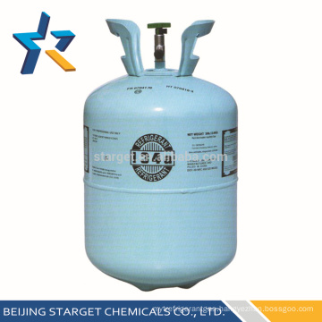13.6kg cylinder HFC R134a refrigerant gas with 99.9% purity r 134aY