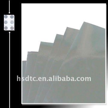 Aluminium Metallisierte Folie für Glitzer Puder-Silber Farbe