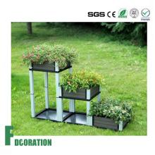 Bacs à fleurs jardin Patio WPC, WPC bricolage planteur