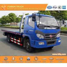 FOTON 4x2 plataforma rodoviária wrecker caminhão