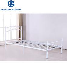 Bedroom Furniture Durable Strong Metal Frame Steel Single Size Bed