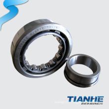Roulement à rouleaux cylindriques à faible frottement Roulement à rouleaux en laiton NJ214