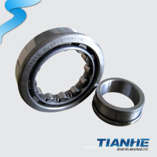 Low friction cylindrical roller bearing NJ214 brass caged bearing