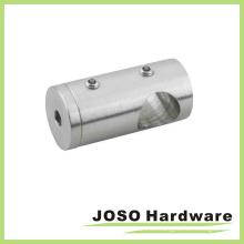 Sostenedor de barra de barandilla de acero inoxidable cepillado (HDA401)
