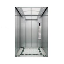 Décoration de cabine d'acier inoxydable d'ascenseur de passager 1000kg