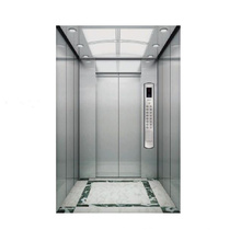1000kg Passenger Elevator Stainless Steel Cabin Decoration